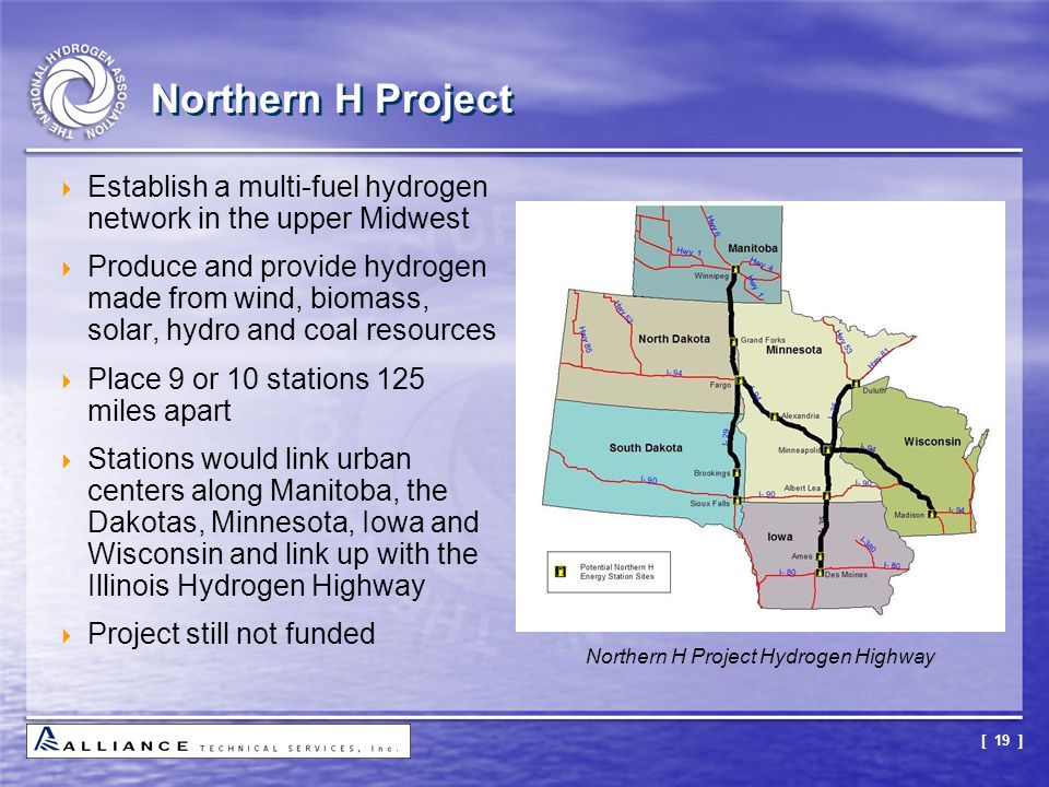 Northern H Project Hydrogen Highway