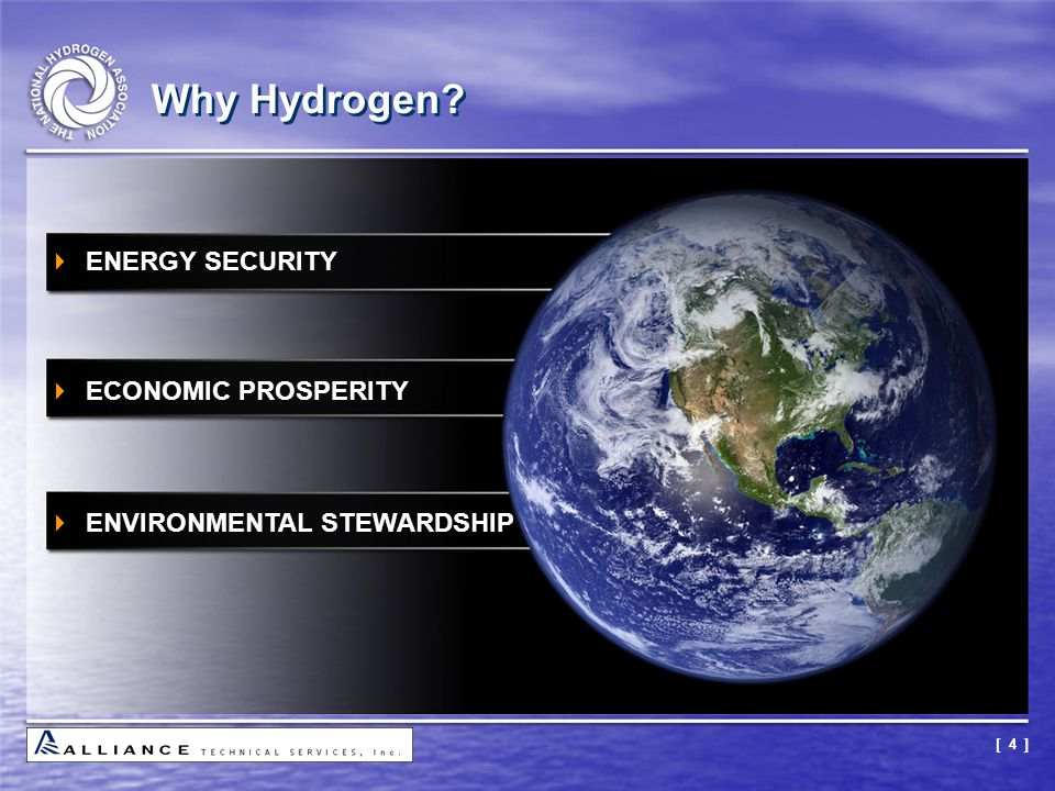Why Hydrogen ENERGY SECURITY ECONOMIC PROSPERITY