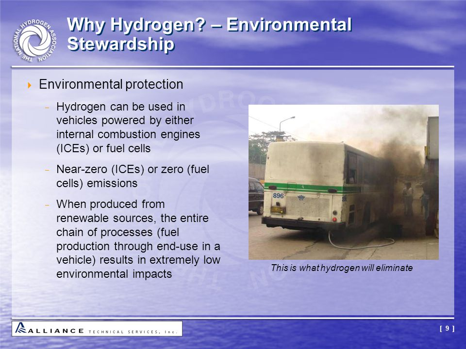 Why Hydrogen – Environmental Stewardship