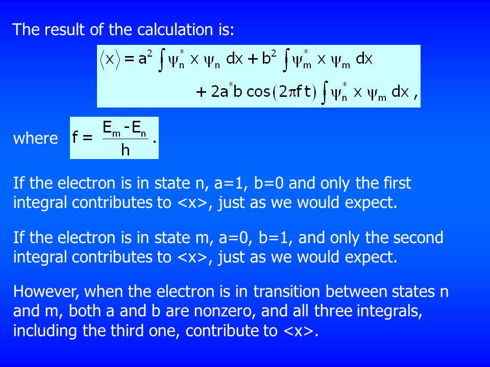 The result of the calculation is: