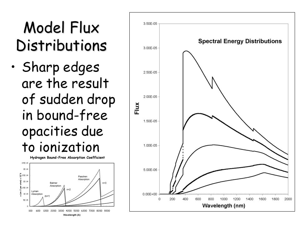 Model Flux Distributions