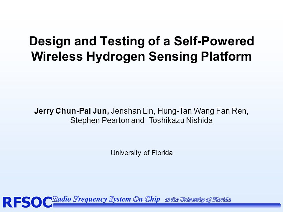 Design and Testing of a Self-Powered Wireless Hydrogen Sensing Platform