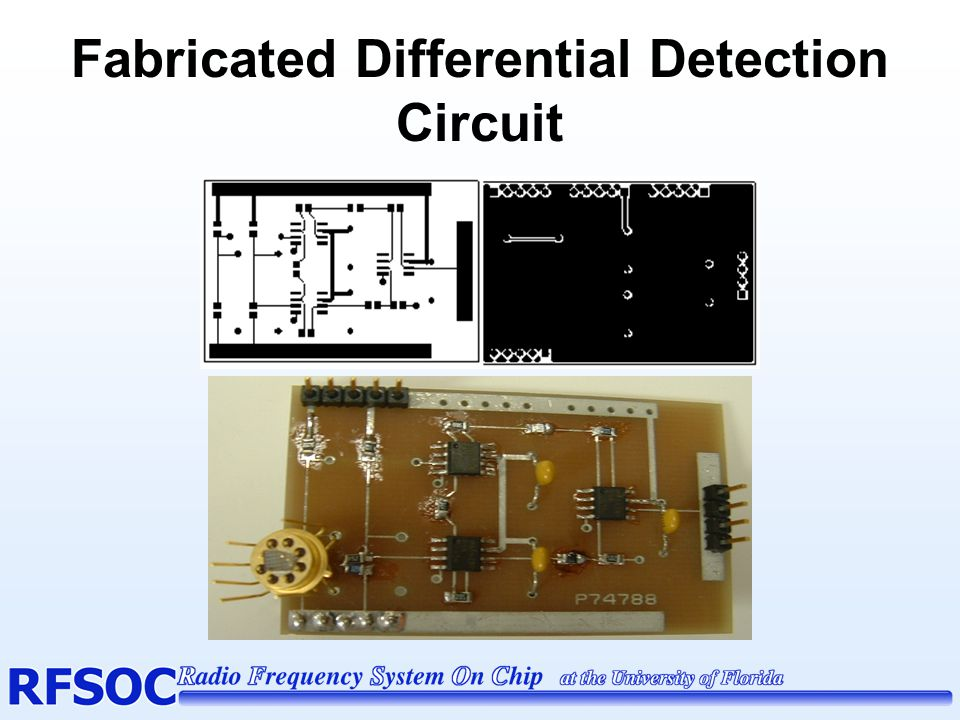 Fabricated Differential Detection Circuit