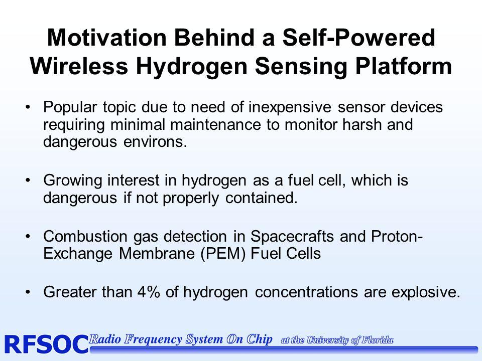 Motivation Behind a Self-Powered Wireless Hydrogen Sensing Platform