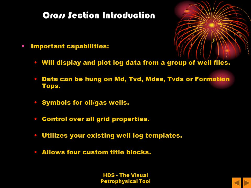 Cross Section Introduction