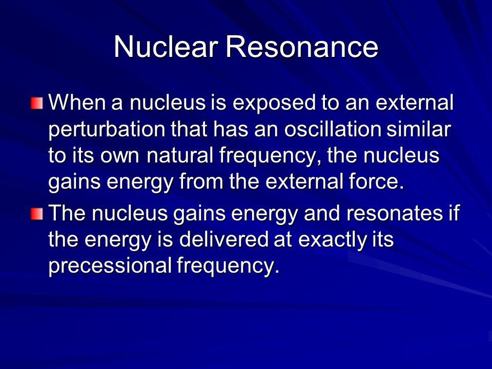 Nuclear Resonance