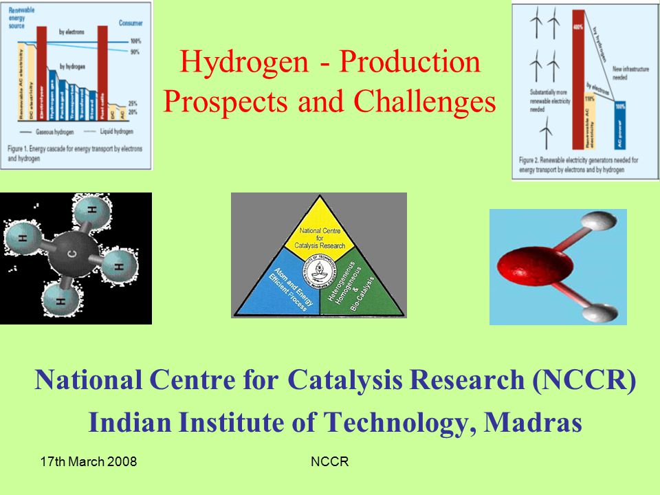Hydrogen - Production Prospects and Challenges