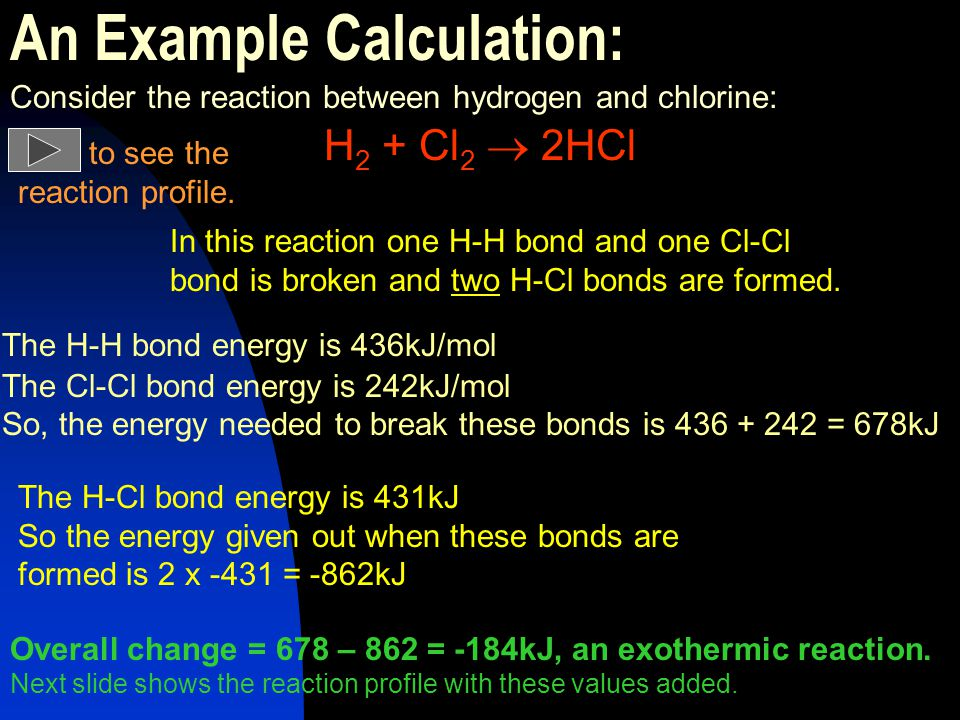 An Example Calculation: