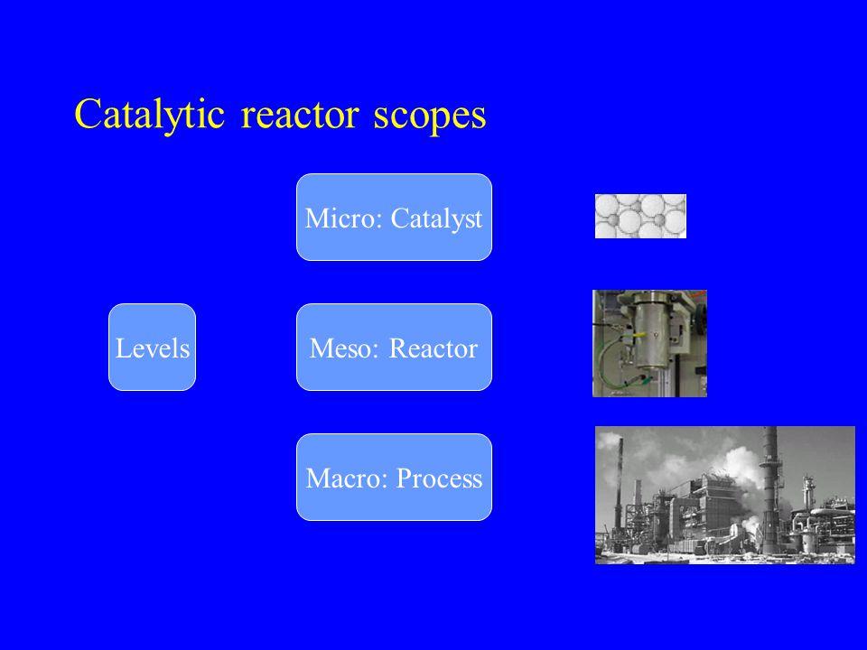 Catalytic reactor scopes