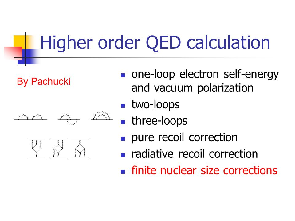 Higher order QED calculation