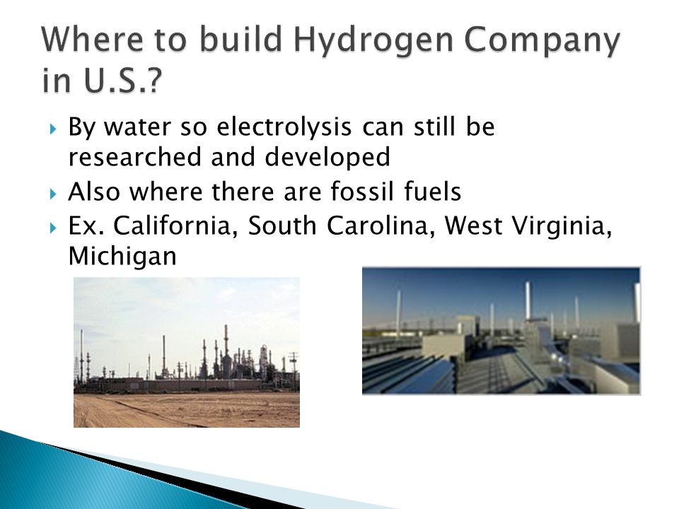 Where to build Hydrogen Company in U.S.