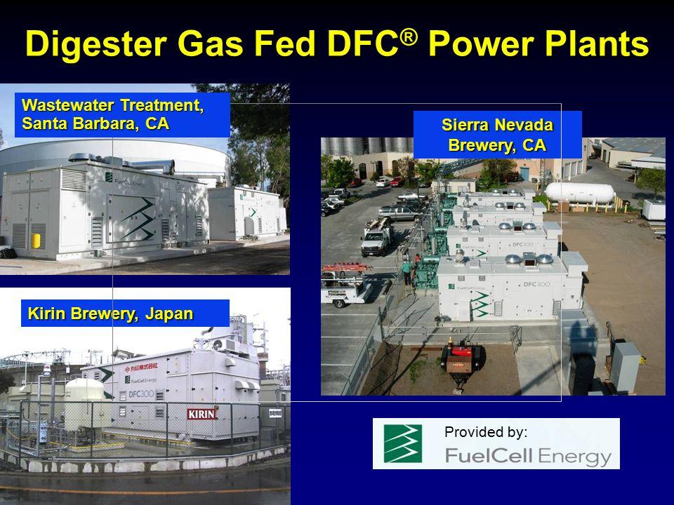 Digester Gas Fed DFC® Power Plants Sierra Nevada Brewery, CA