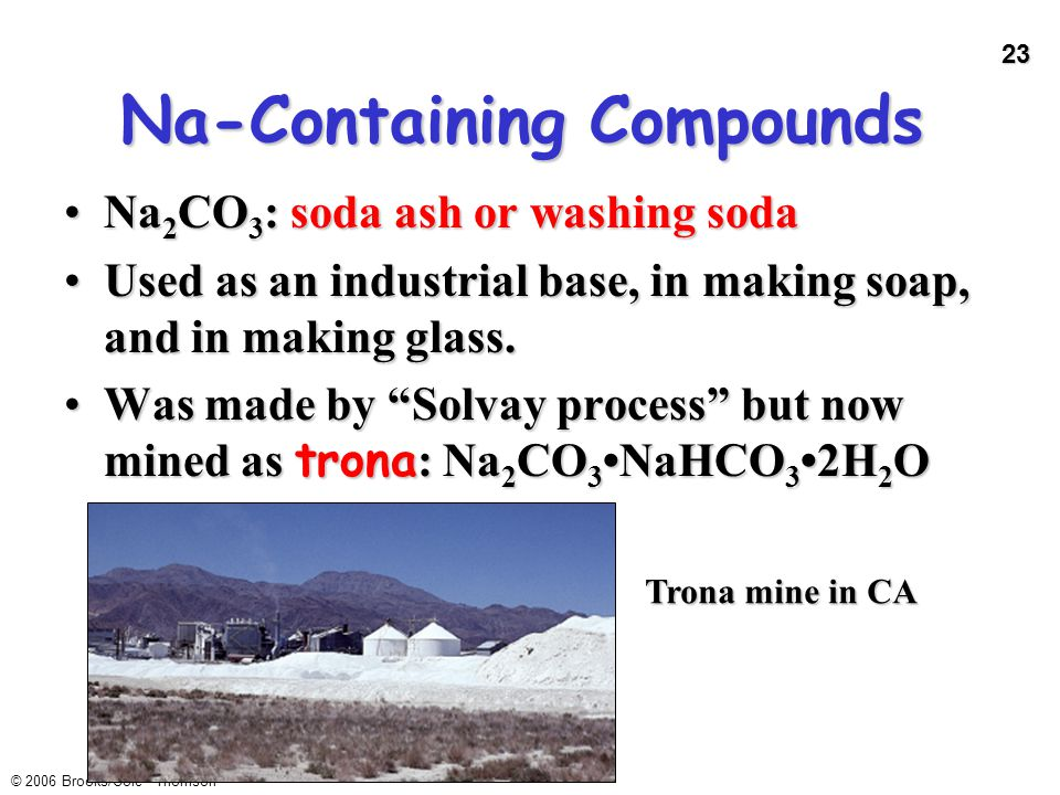 Na-Containing Compounds