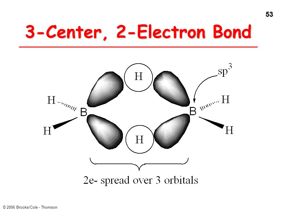 3-Center, 2-Electron Bond