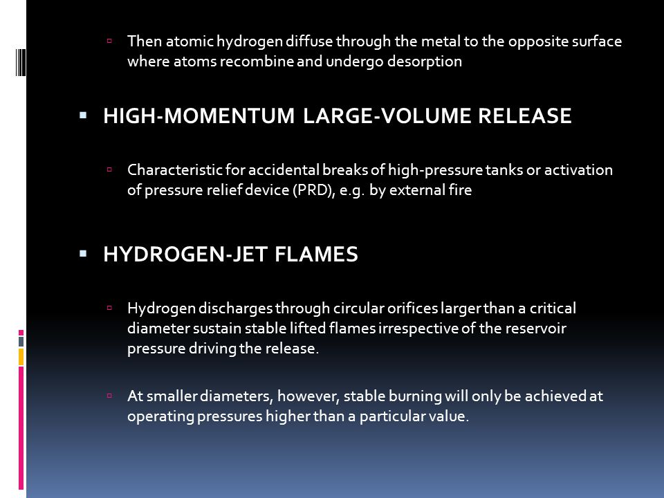 HIGH-MOMENTUM LARGE-VOLUME RELEASE
