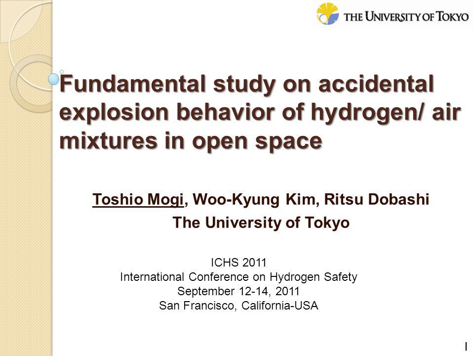 Toshio Mogi, Woo-Kyung Kim, Ritsu Dobashi The University of Tokyo