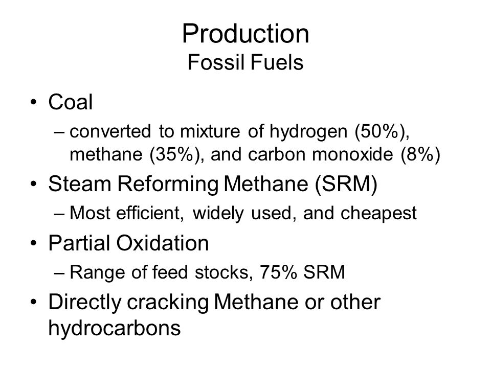 Production Fossil Fuels