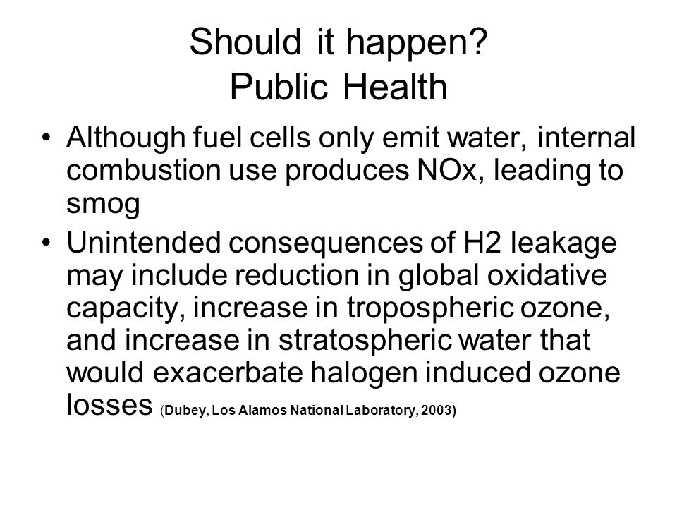 Should it happen Public Health