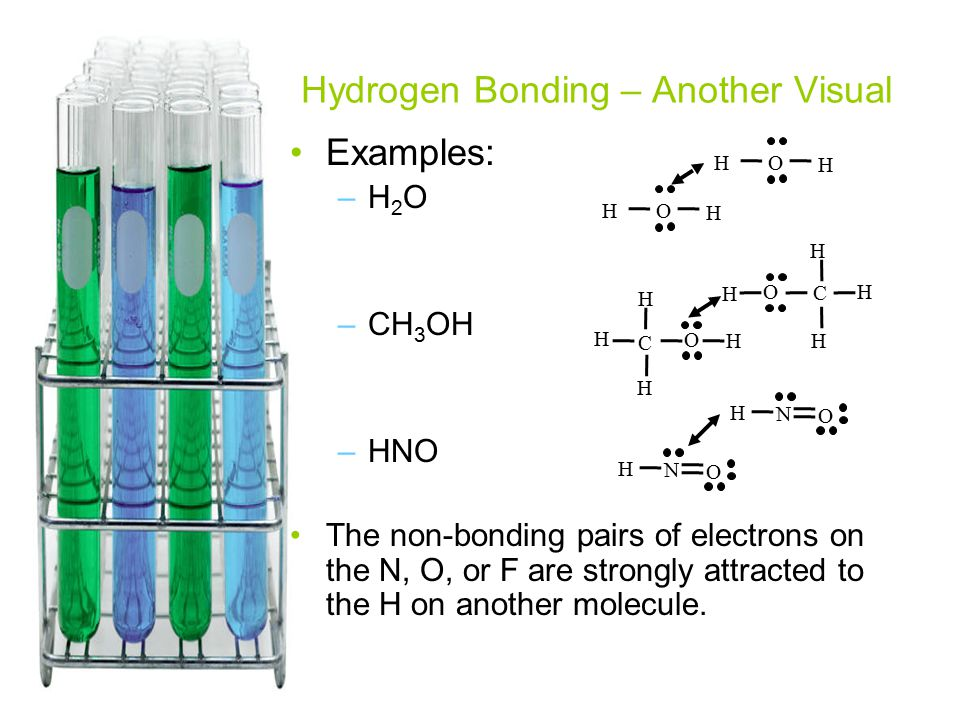 Hydrogen Bonding – Another Visual
