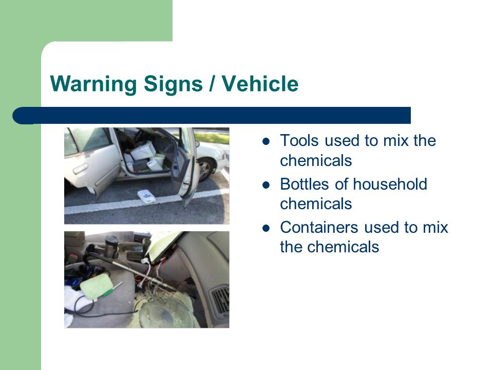 Warning Signs / Vehicle