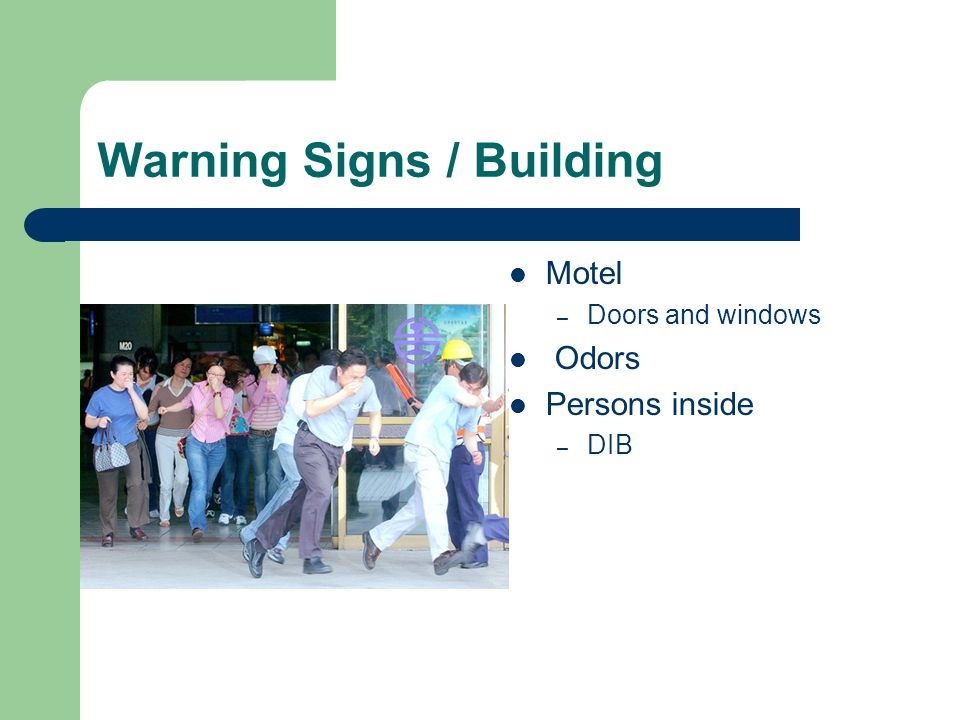 Warning Signs / Building