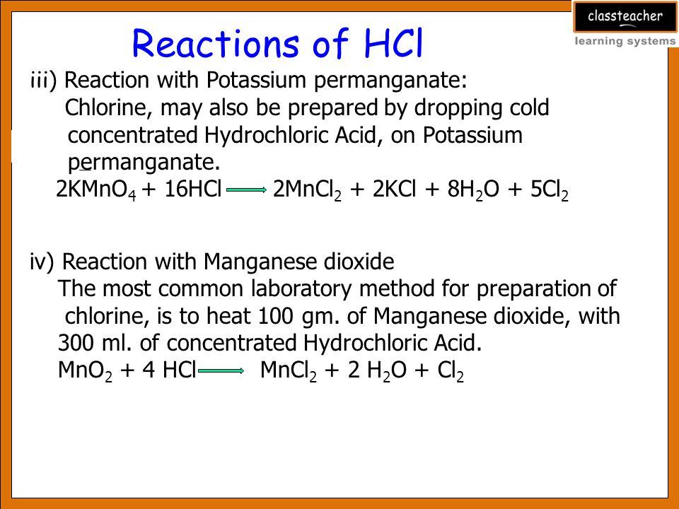 Hydrogen Chloride Ppt Video Online Download