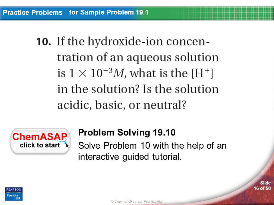 Solve Problem 10 with the help of an interactive guided tutorial.