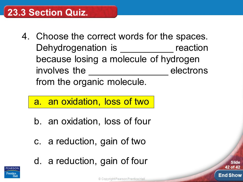 23.3 Section Quiz.