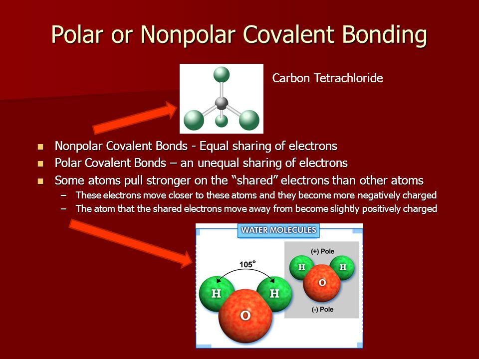 Polar or Nonpolar Covalent Bonding