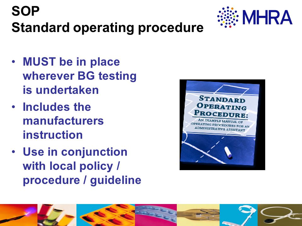 SOP Standard operating procedure