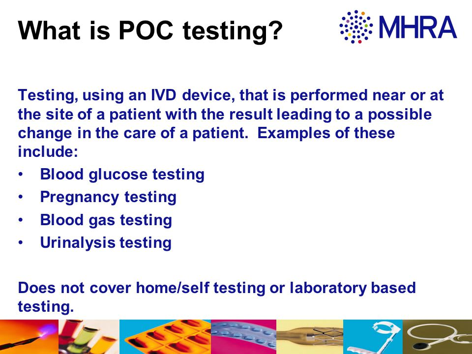 What is POC testing