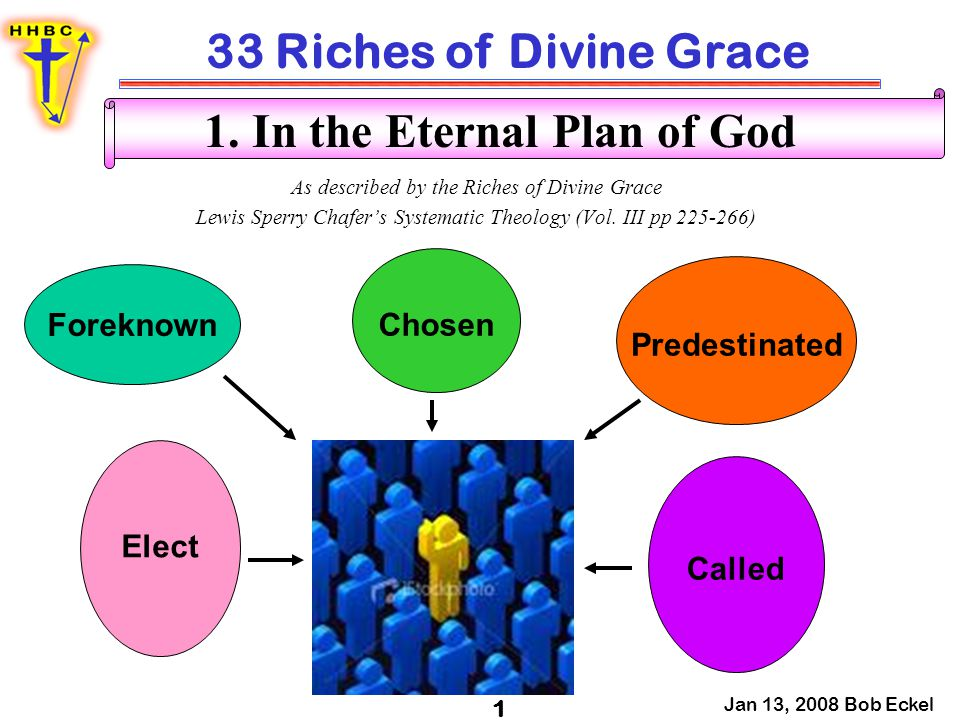 1. In the Eternal Plan of God