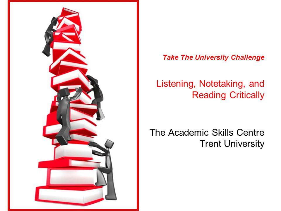 Take The University Challenge