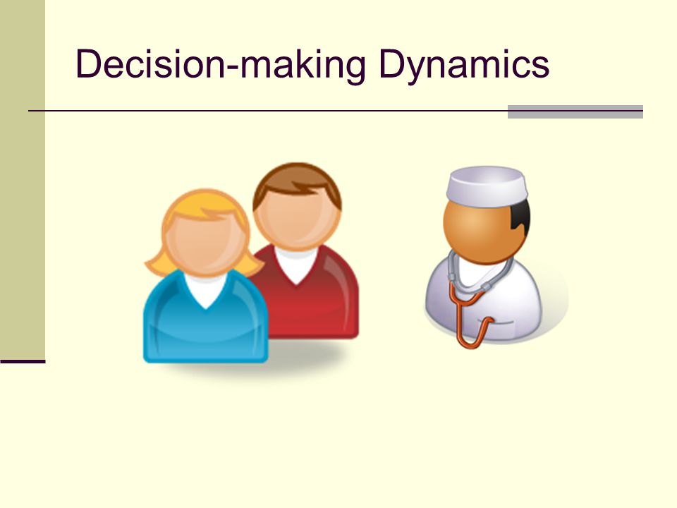 Decision-making Dynamics