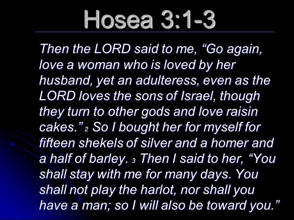 hosea his harlot