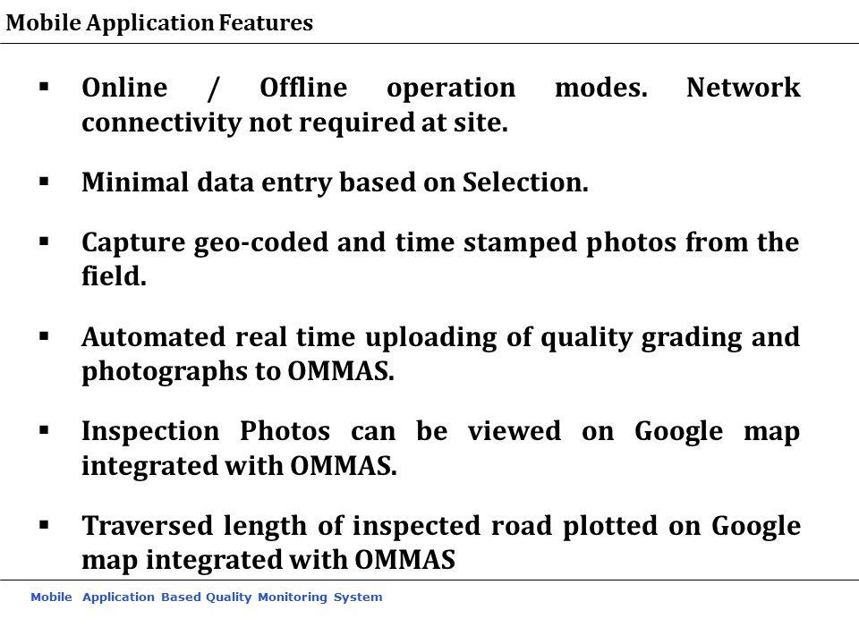 Minimal data entry based on Selection.
