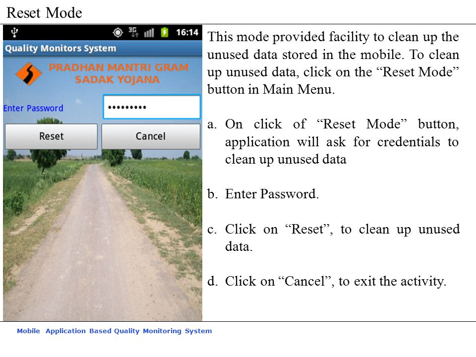 Reset Mode