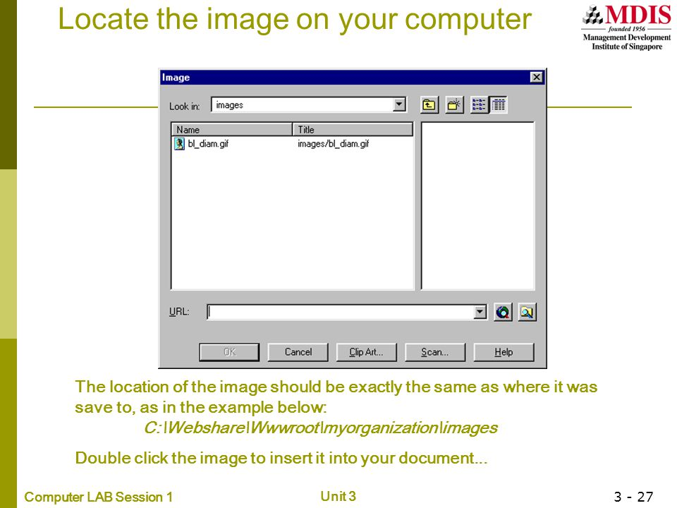 Locate the image on your computer