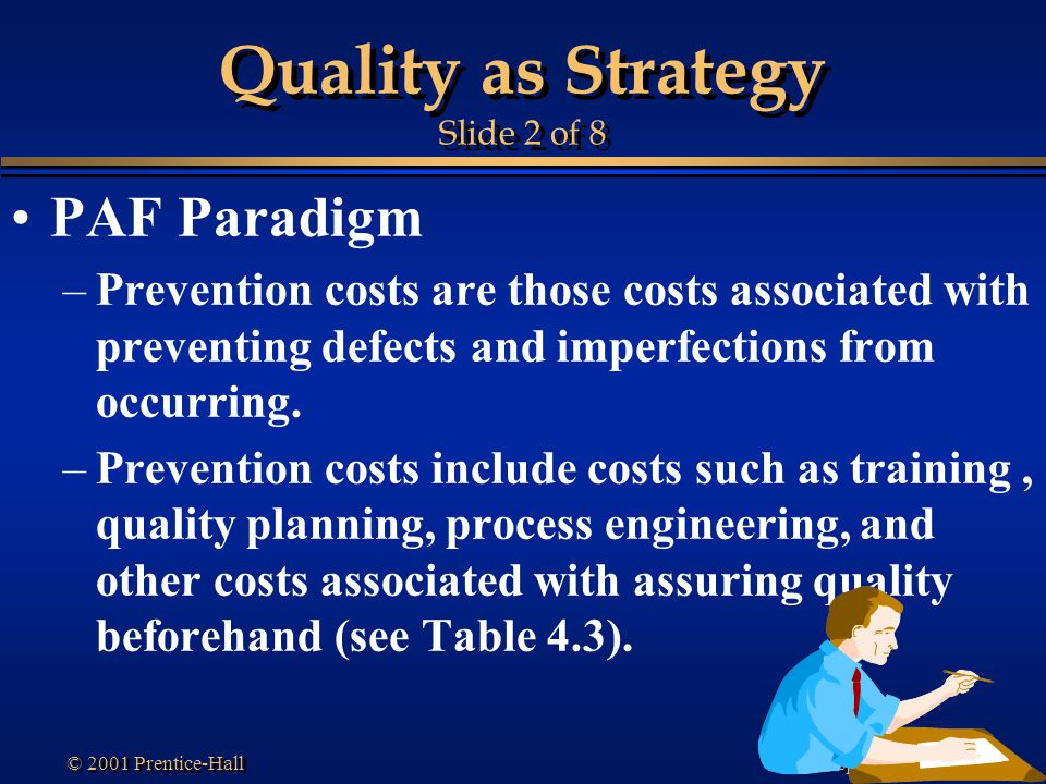 Quality as Strategy Slide 2 of 8