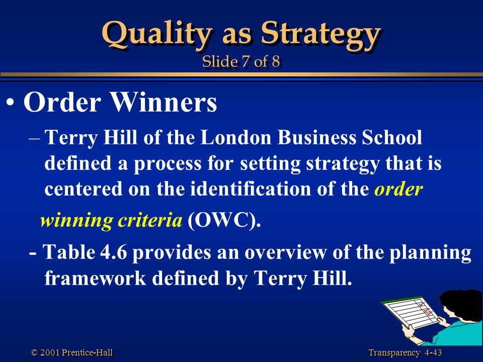 Quality as Strategy Slide 7 of 8