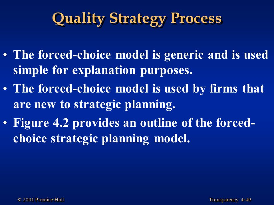 strategic quality planning Experts available for strategic quality planning consulting, expert witness, or analyst services for business, legal, and technical professionals.