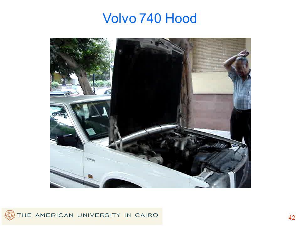 Volvo 740 Hood