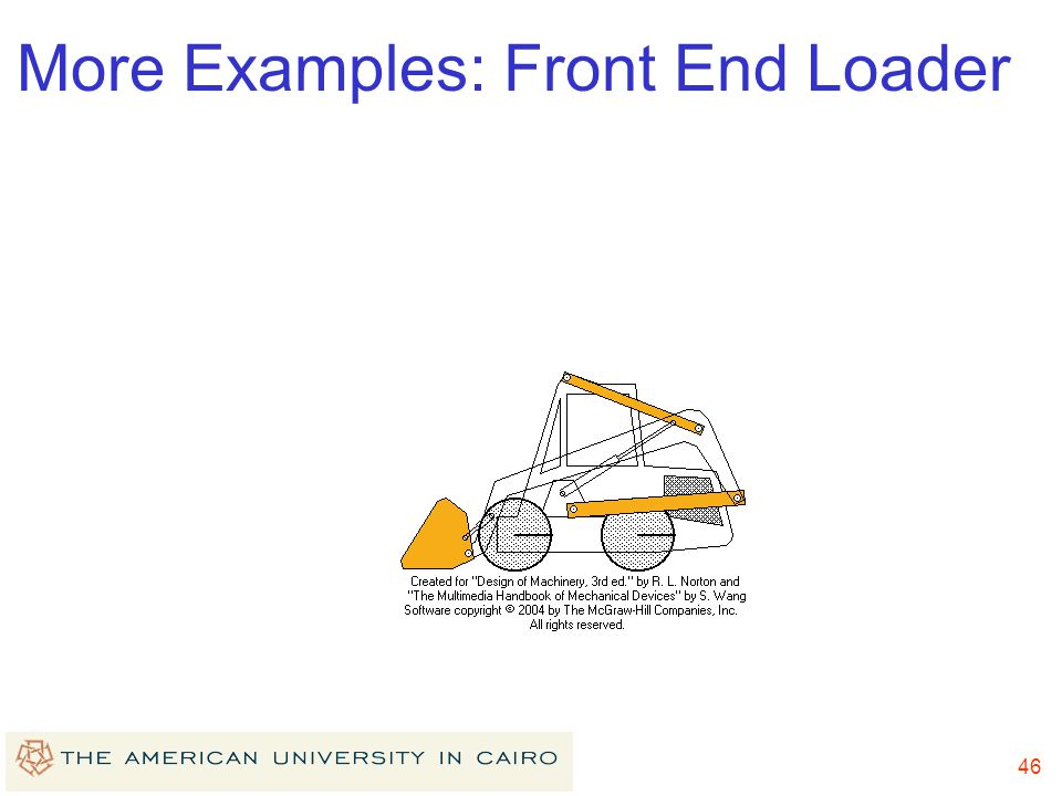 More Examples: Front End Loader