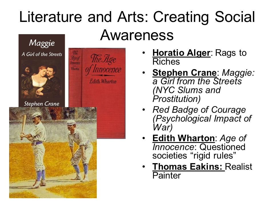 Literature and Arts: Creating Social Awareness