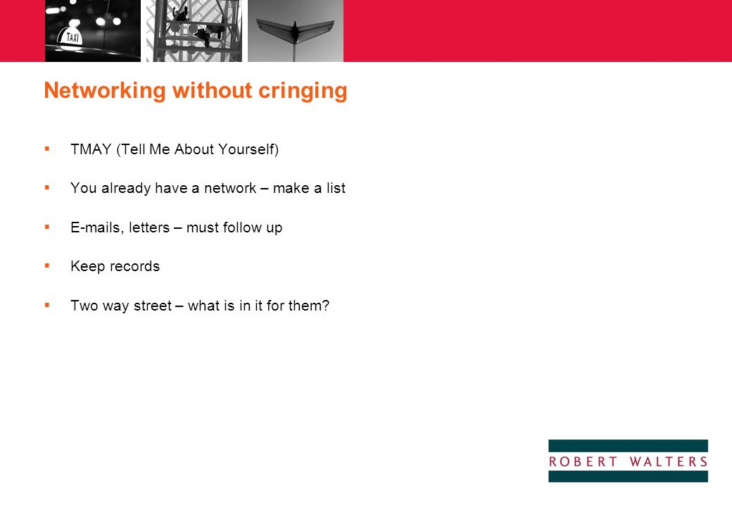 Networking without cringing