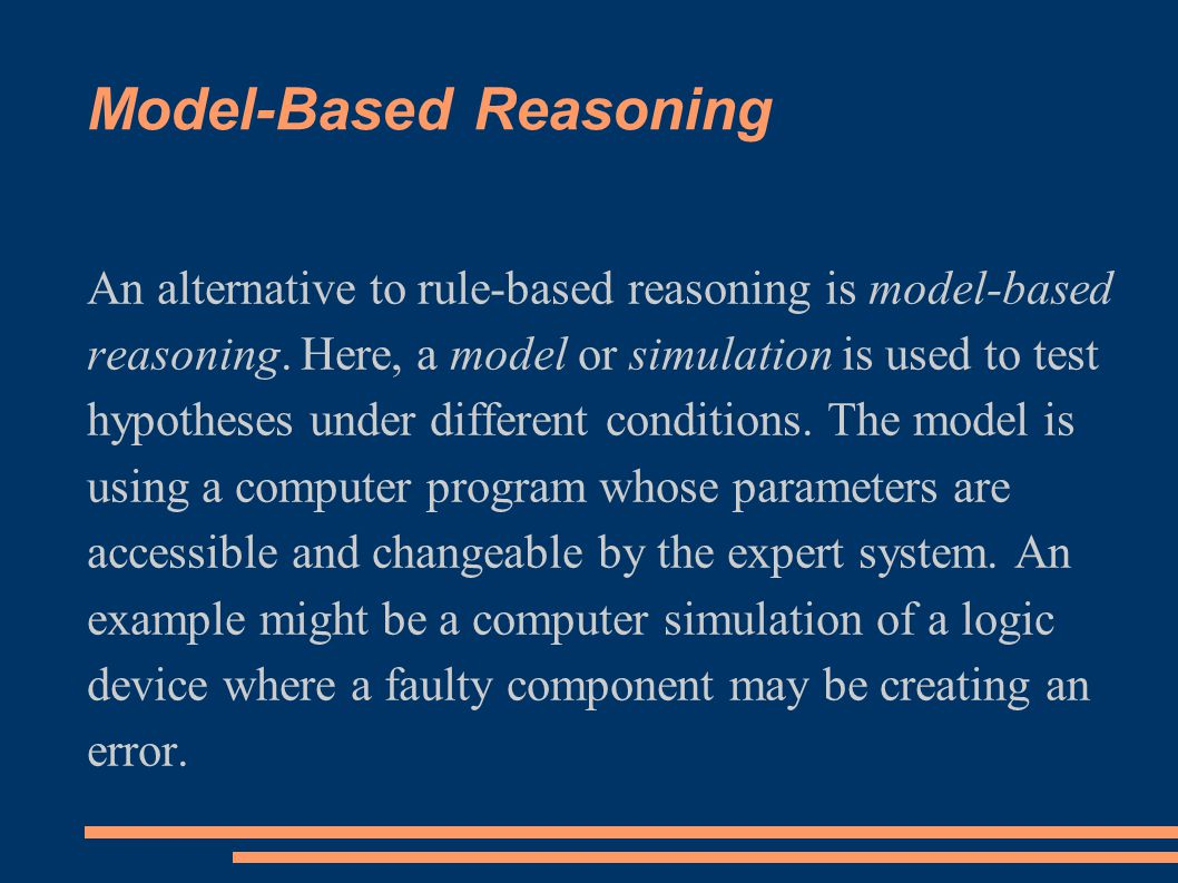 Model-Based Reasoning
