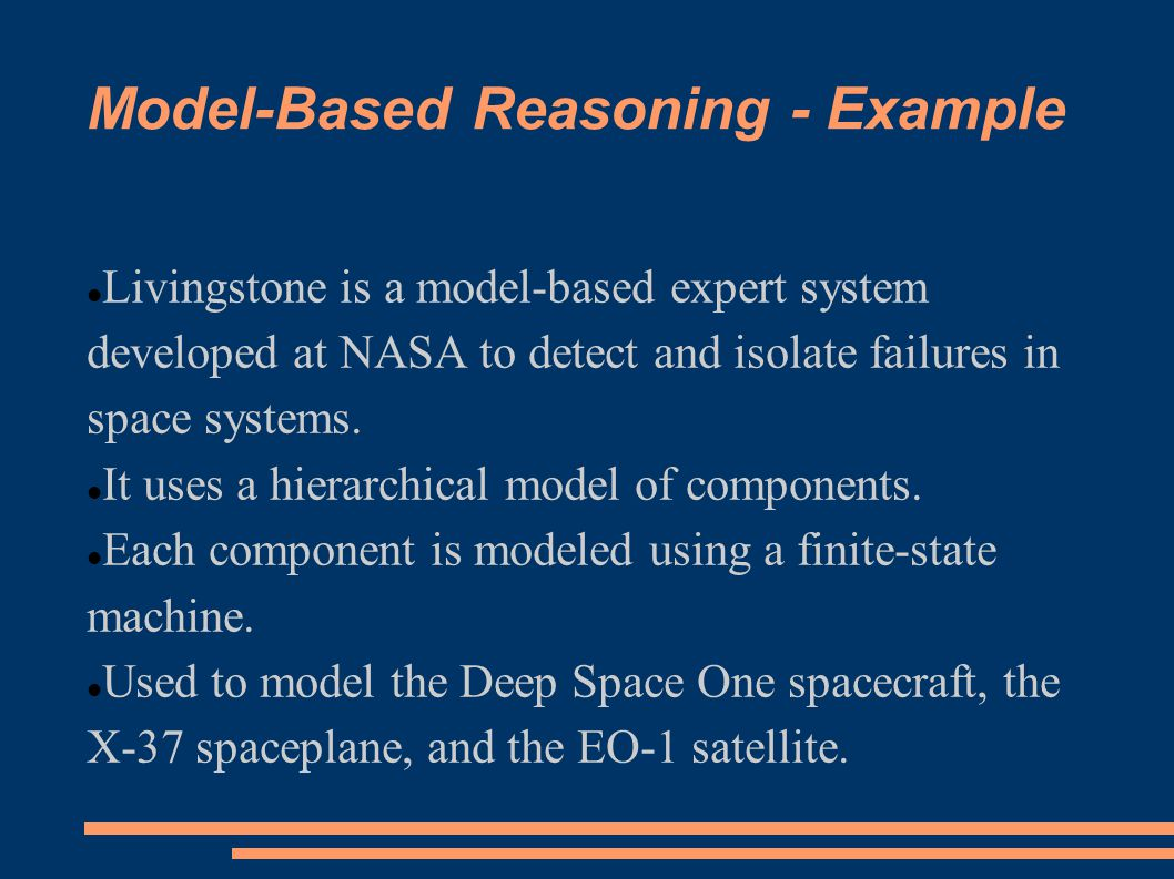 Model-Based Reasoning - Example
