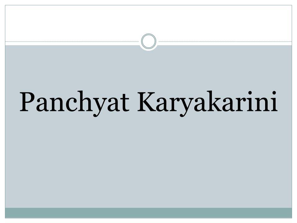 Panchyat Karyakarini