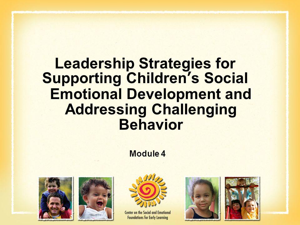 Leadership Strategies for