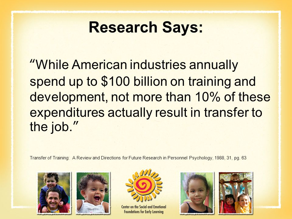 Research Says:
